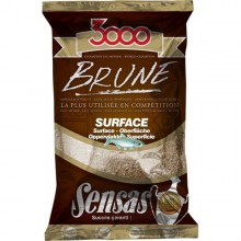 Zanęta Sensas 3000 BRUNE  Surface 1kg