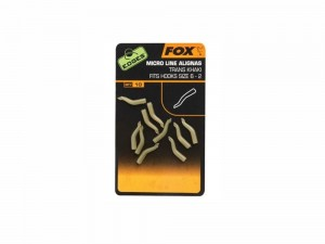 FOX Edges Micro Line Aligner Hook  6-2 - trans khaki