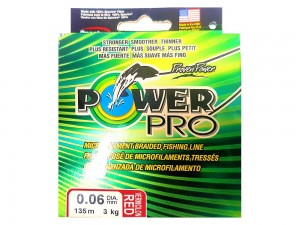 Plecionka Power Pro Vermilion Red 135m